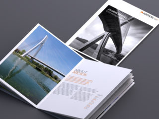 Set of 10 brochures for Arcadis