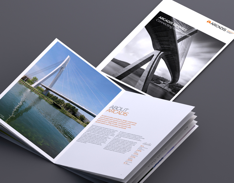 Arcadis – set of 10 brochures